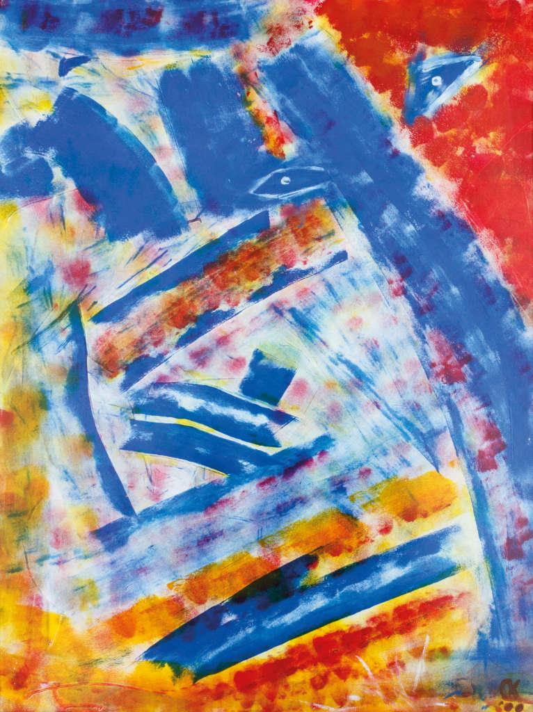Intuïtief schilderen, door Kris Kielman uit Baarle-Nassau.